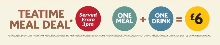 Morrisons Teatime Meal Deal