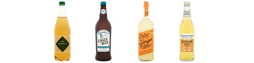 Ginger Gin Mixers