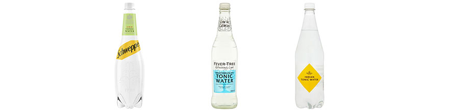 Tonic Water Gin Mixers