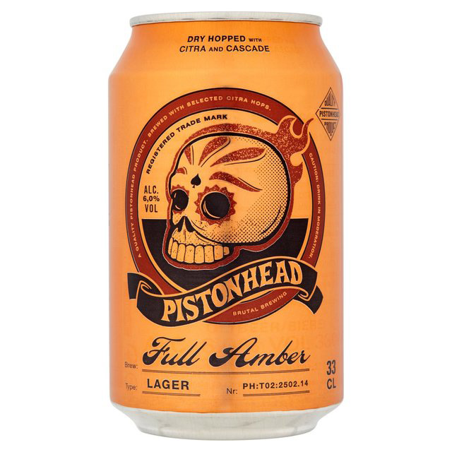 Craft Beer Cans Pistonhead