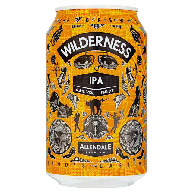 Craft Beer Cans Wilderness IPA