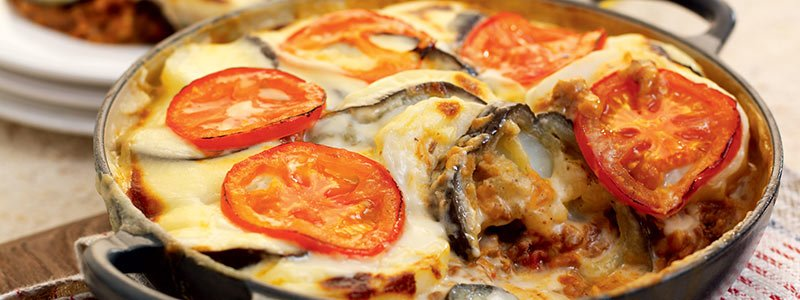 Aubergine Recipes: Mince Bake