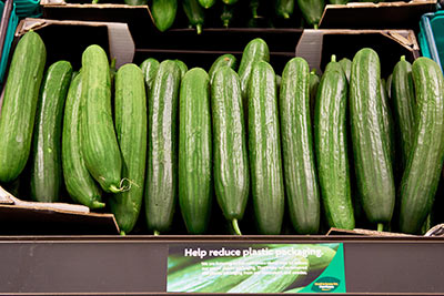 Naked Cucumbers In Store