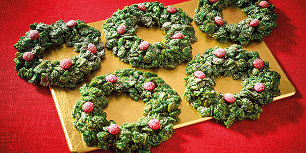 Morrisons Recipes Gluten Free Christmas Cornflake Wreaths