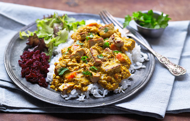 Morrisons Recipes Katsu Curry With Quorn Pieces