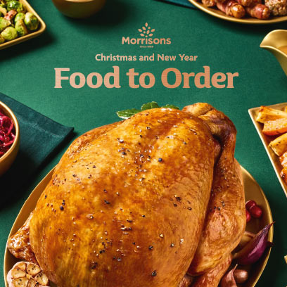 <b>Christmas</b> Dinner Ideas and Inspiration from Morrisons