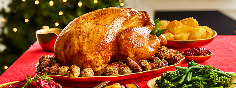 Christmas Meal.Christmas Dinner Ideas And Inspiration From Morrisons