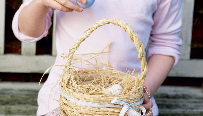 How To Make Easter Baskets 4