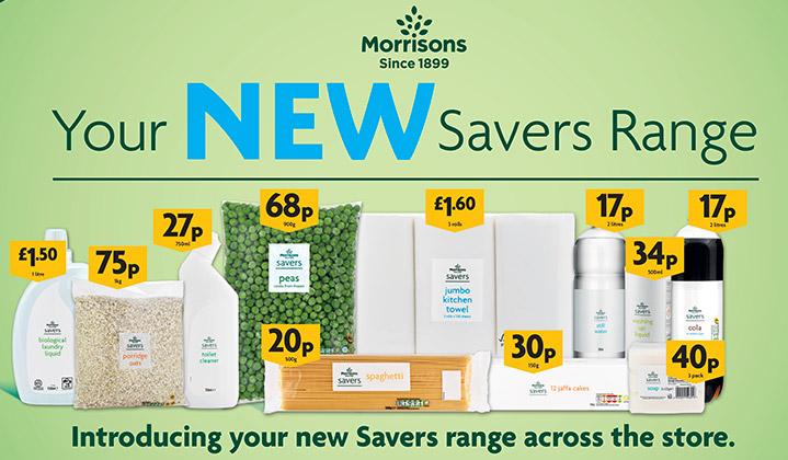 d4d64fae36c Introducing Your New Savers Range - Morrisons
